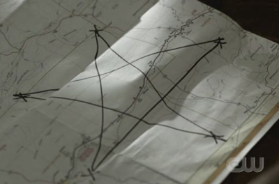 2x22 - All Hell Breaks Loose: Part Two pentagram map