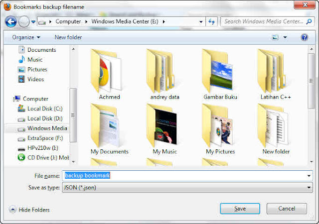 how to add bookmark in mozilla firefox