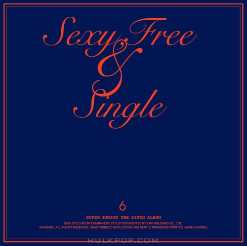 SUPER JUNIOR – Sexy, Free & Single (ITUNES PLUS AAC M4A)