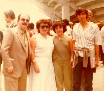 Francino, Maria Lluïsa Puget, Lara Francino y Juan Antonio Corral, México 1981