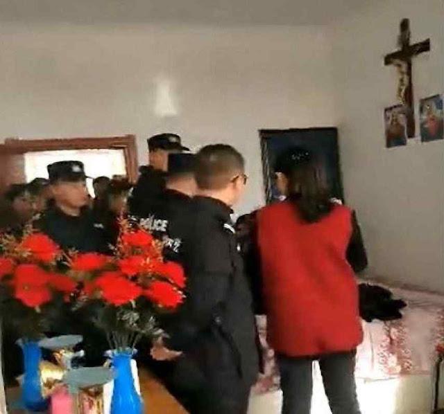 Policiais impedem missa pela violência em Heilongjiang