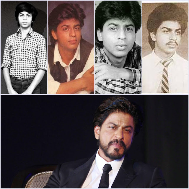 childhood pics of shah rukh khan