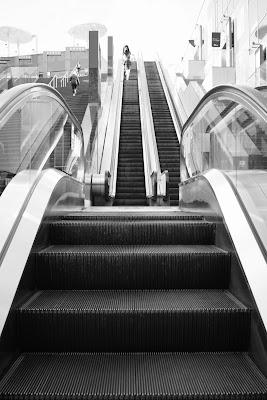 京都駅エスカレーター
