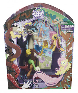 MLP Hasbro San Diego Comic Con 2016 Exclusive Discord and Fluttershy