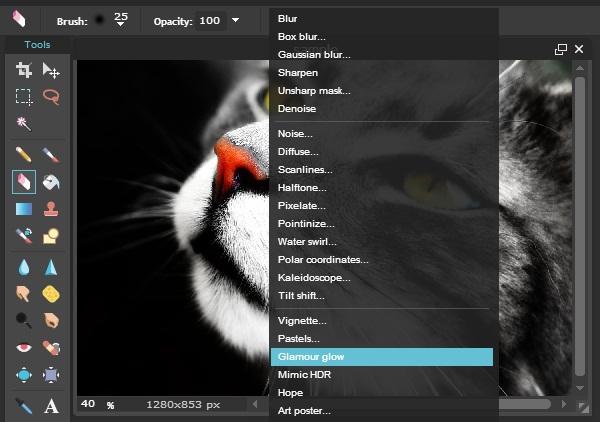 Cara Edit Pilihan Warna Pada Objek Foto