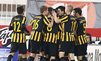 Άρθρο σχετικά με την νίκη της ΑΕΚ στο Περιστέρι
