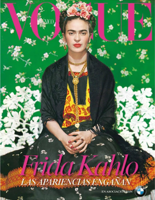 Frida Kahlo na capa da revista Vogue