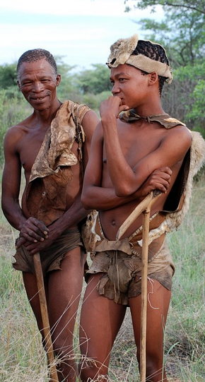 San people rightly choose to call themselves Khoisan