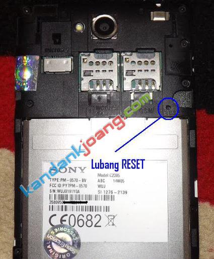 Cara Mudah Flash Sony Xperia C C2305 Work Sukses 100