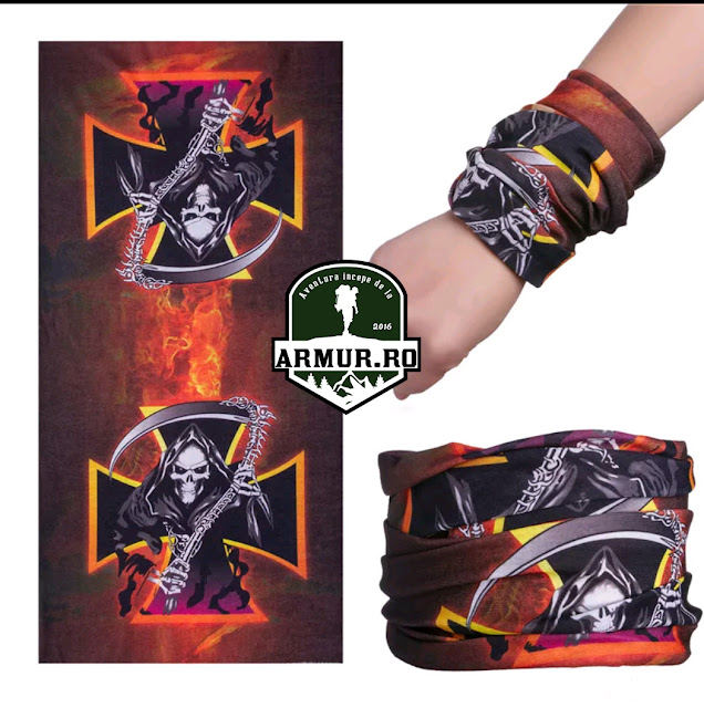 Bandana Death Rock Moto Bike