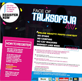 ENTRIES NOW OPEN FOR THE FACE OF TALKSOF9JA 2017 | REGISTER NOW AND BECOME THE NEXT FACE OF TALKSOF9JA