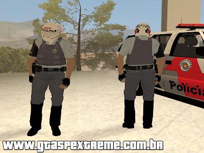Nova Skin da Rocam PMESP para GTA San Andreas