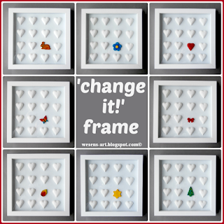 Change It Frame wesens-art.blogspot.com
