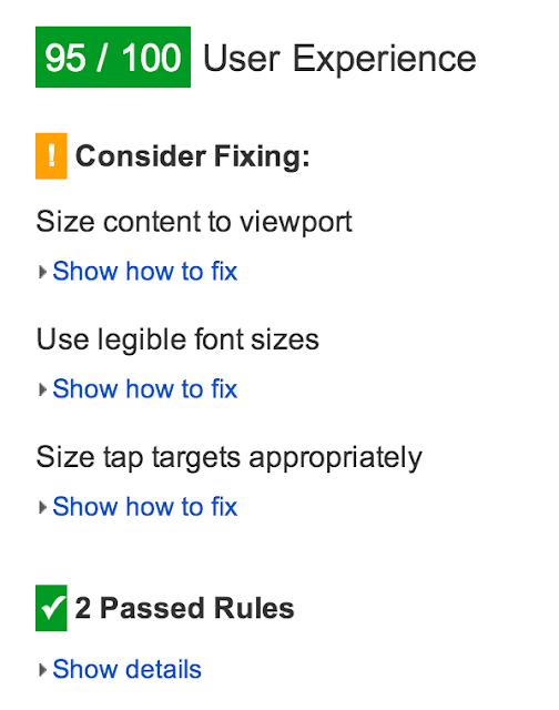 1. Google PageSpeed Insights
