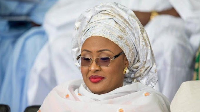 Nigeria First Lady, Aishat Buhari celebrate with millions of girls around the world (See her Post)