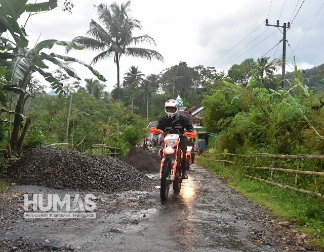 Hujan Tak Jadi Penghalang Fokopimda Trenggalek Tinjau Lokasi Latsitardanus XXXIX