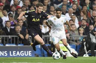 Tottenham vs Real Madrid live stream 1/11/2017 UEFA Champions League