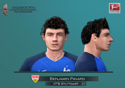 PES 6 Faces Benjamin Pavard by Gabo CR Facemaker