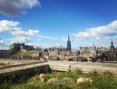 National Museum of Scotland rooftop - Edinburgh Castle