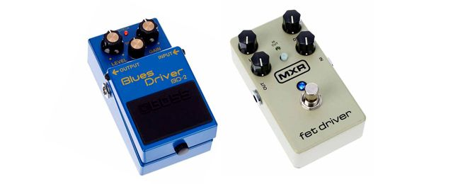 Boss Blues Driver BD-2 Vs MXR M264 Fet Driver Overdrives Pedal