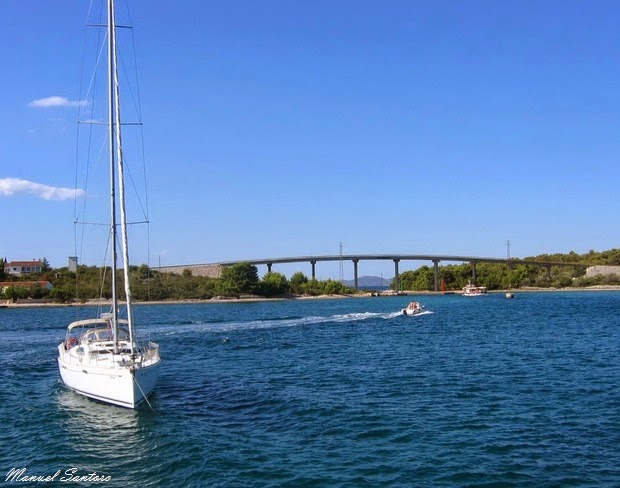 Navigando verso le Kornati
