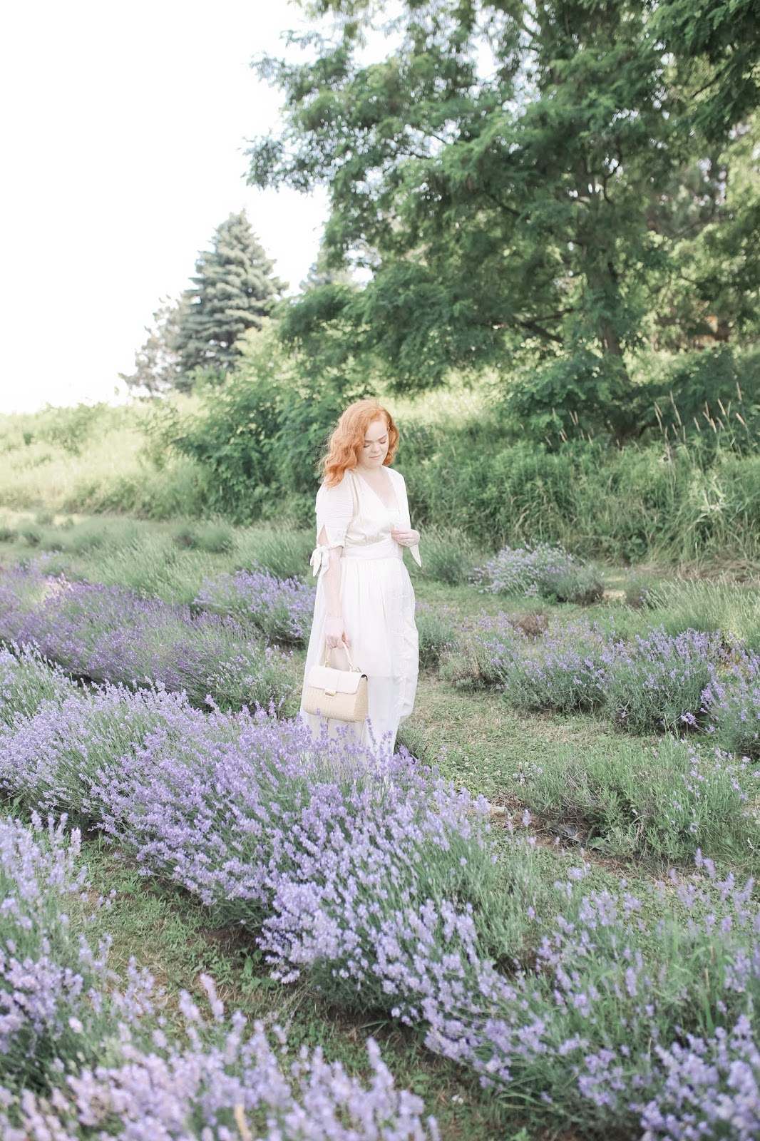 Lavenders Blue... I Will Love You   Hunting Lavender Fields In A Sweet Linen Frock   Outfit Roundup & Recommendations   labellesirene.ca