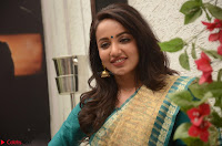 Tejaswi Madivada looks super cute in Saree at V care fund raising event COLORS ~  Exclusive 042.JPG