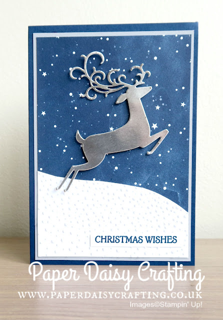 Detailed Deer thinlits from Stampin Up