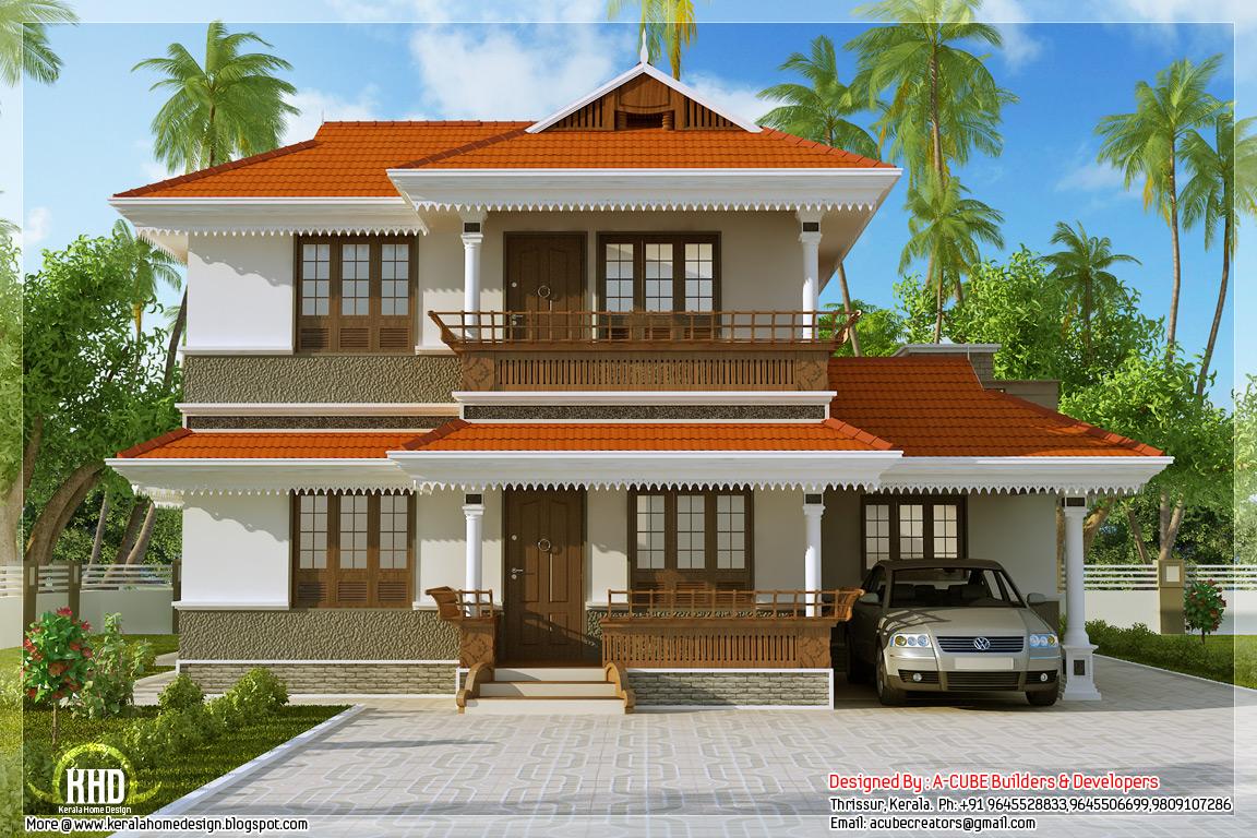 Kerala model home plan in 2170 sq.feet | home appliance
