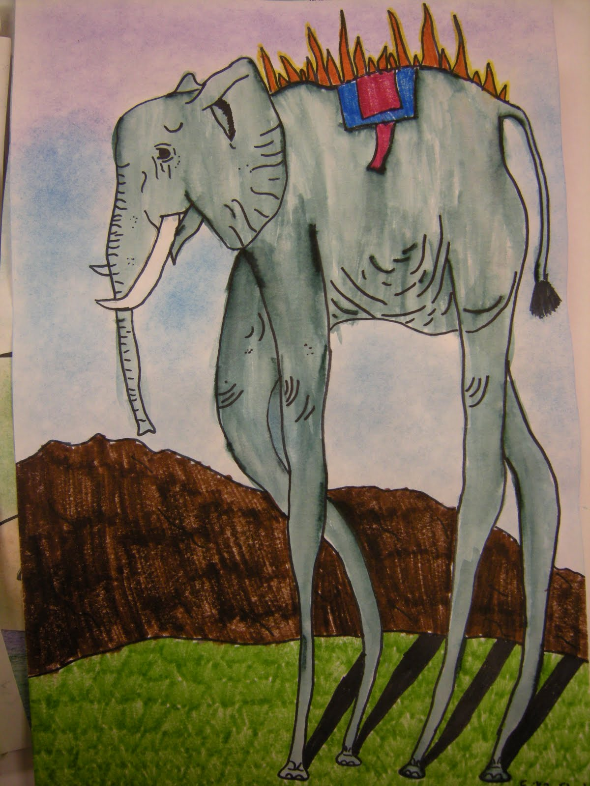 Artolazzi Dali Elephants