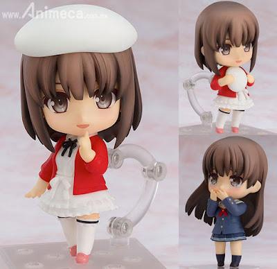 Saekano: How to Raise a Boring Girlfriend Memorial Limited Edition Book / Figura Megumi Kato Heroine Ver. Nendoroid Saenai Heroine no Sodatekata