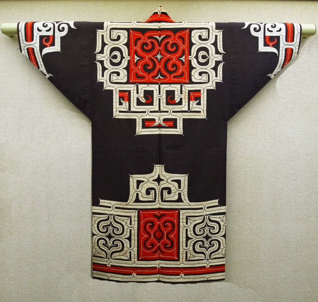 Ainu traditional robe