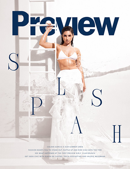 Coleen Garcia Preview Magazine's March 2016 Cover