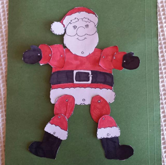 Babbo Natale handmade da appendere