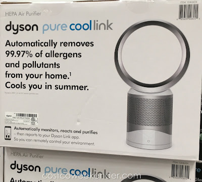 Costco 1044424 - Some other purifiers can release harmful pollutants but the Dyson Pure Cool Link HEPA Air Purifier and Fan keeps them trapped