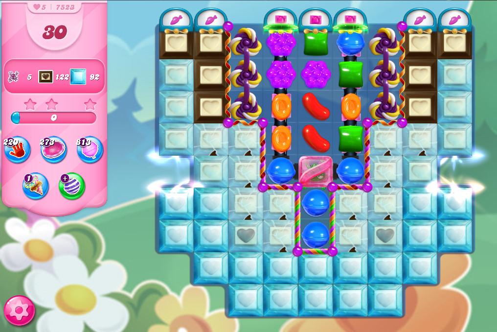 Candy Crush Saga level 7523