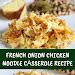 French Onion Chicken Noodle Cαsserole Recipe