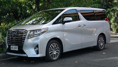 New 2016 Toyota Alphard Luxury MPV