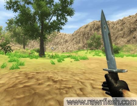 Jogos em 3D, cs, ação, tiro, de arma: Silent Soldier 3D.