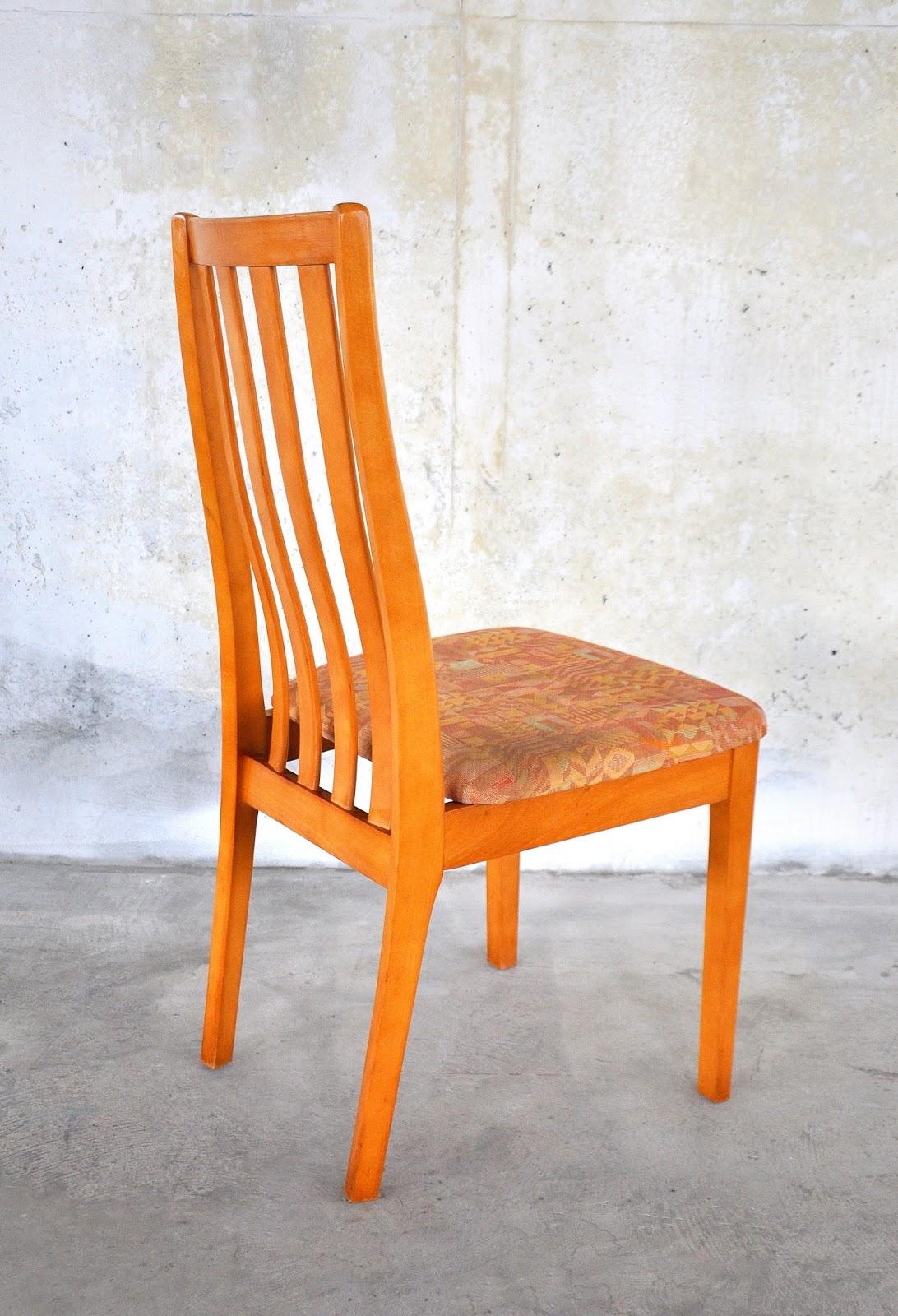 Select Modern Set Of 6 Danish Modern Dining Chairs