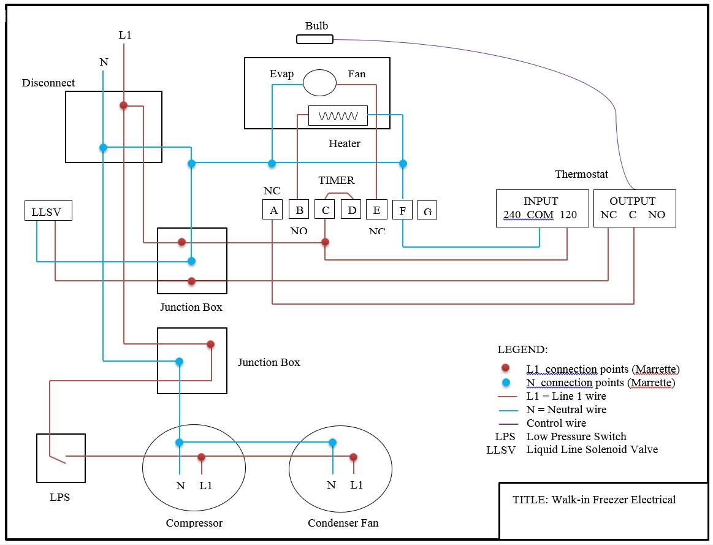 master bilt freezer wiring diagrams