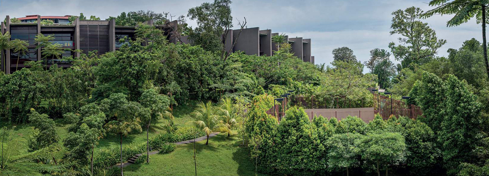The Club Residences Capella - Lush Tropical Landscape