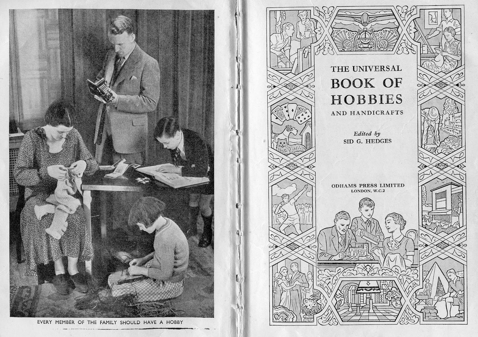 Universal Book of Hobbies and Handicrafts
