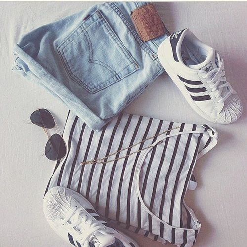 superstar adidas how to wear looks