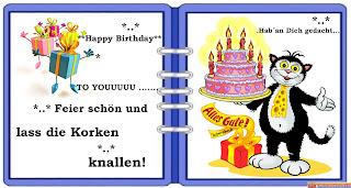 Geburtstagswünsche Ungarisch