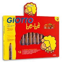 Boîtde de 12 crayons de couleur bébé de GIOTTO
