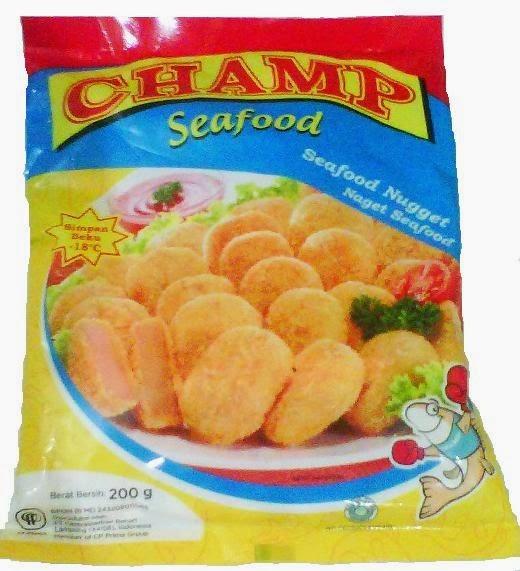 Nugget Champ Berbahaya: Depo Nugget.com: CHAMP NUGGET SEAFOOD