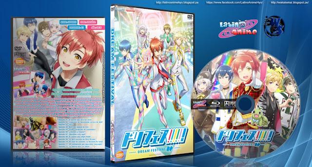 Dream Festival!   Cover DVD  