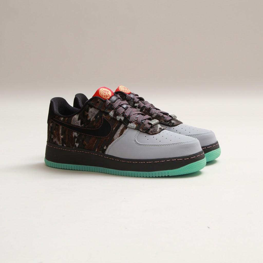 bdd13ab10216 TODAYSHYPE  Nike Air Force 1 CMFT PRM YOH QS (Wolf Grey Green Mist)
