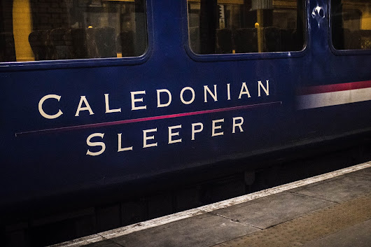 A DIFFERENT WAY TO TRAVEL TO SCOTLAND | CALEDONIAN SLEEPER